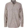 Royal Robbins Headwall Chambray LS Shirt Men Turkish Coffee